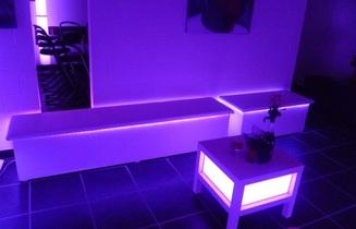 verhuur huren verlichte lounge corner huren verhuur