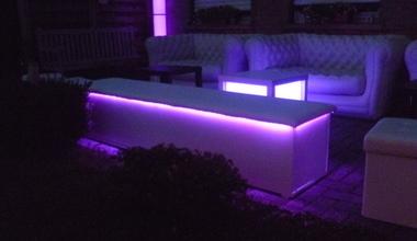 verhuur verlichte lounge huren