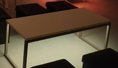 Loungehuren.be - Verlichte Langwerpige salontafel