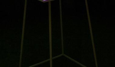 Statafel verlicht