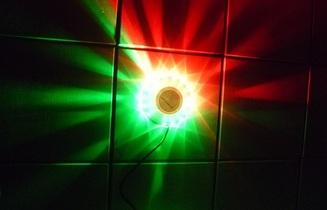 led verlichting  kleuren effect